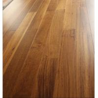 China Jointed 2230mm myanmar Teak Engineered Parquet Flooring, natural color and semi gloss on sale