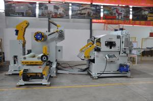 China 2460mm height 140'S 45# Decoiling And Straightening Machine on sale