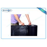China Black Color Perforated Polypropylene Nonwoven Fabric For Safe and Mattresses wholesale