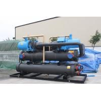 China Residential Air Conditioning Heat Recovery Unit Screw Water Cooled Chiller 90 -170 Tons wholesale