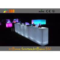 China Colors change LED Bar Tables , banquet & party Glowing bar furniture wholesale