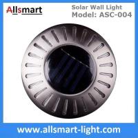 Buy cheap UFO Round Solar Wall Lights RGB Solar Inderground Lamp Solar Pathway Lawn Light from wholesalers