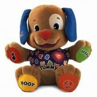 China Musical Dog Fisher-Price Laugh/Learn Love to Play Puppy Baby Plush Musical Toys wholesale