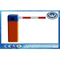 China Manual Vehicle Barrier Gate with RS485 Communication Module Straight Boom wholesale