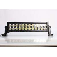 China IP67 13.5 Inch / 72W 4x4 Offroad Car Straight Double Row Epistar Led Light Bar on sale