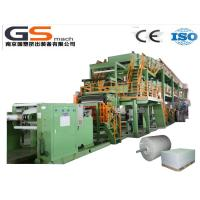 China Single Screw Extruder Stone Paper Production Line For Wall Paper Folding Resistant wholesale