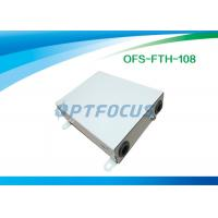 China 4 Core FTTH Terminal Box Wall Mount , Cable Terminal Boxes Electrical on sale