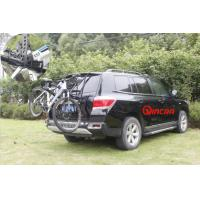 Quality Iron Can Load 3 Bicycles Rear Bike Rack Bike Carrier without lock for sale