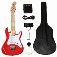China Solidwood 31 inch Fender Electric Toy Guitar ST Style for Children wholesale