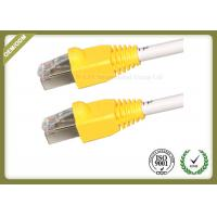 China AMP Cat6 STP / FTP Network Patch Cord Solid Bare Copper 4 Pairs With RJ45 Plug wholesale