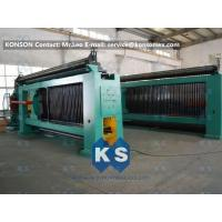 China Heavy Duty Hexagonal Mesh Machine Weaving Width 4300mm Galvanized Wire 4.0mm wholesale