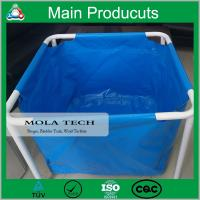 China Economic Long Serve Life Collapsible Mobile PVC Tarpaulin Fish Tank Water Tank Manufacture wholesale