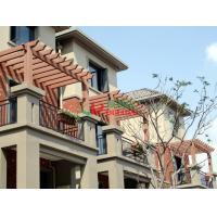 China Durable Pergola Attached To House Roof , Attached Pergola Kits Fire Resistance wholesale