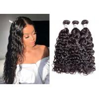 China 9A Bleached Remy 100 Human Hair Bundles With Closure No Chemical Process wholesale
