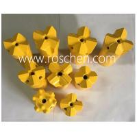 China Furnace Blast Hole Tapping Carbide Cross Bits with Tungsten Carbide Tips wholesale