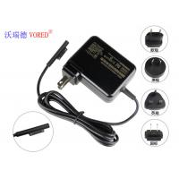 China US Plug Universal Laptop Chargers , Black 15v 1.6a Surface Tablet Charger wholesale