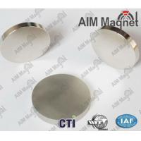China Permanent Disc Neodymium Magnet Sheet For Sale wholesale