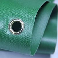 China Green 100 Woven Polypropylene Textiles With Holes For Solvent Printing wholesale
