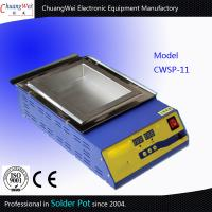 China Portable Military Grade Manual Soldering Pot Titanium Tin Melting Furnace wholesale