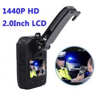 China Full HD 1440P Waterproof  Police 4G Wearable Video Camera With GPS WIFI wholesale
