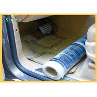 China Strong Adhesive Strength Auto Carpet PE Protective Film For All Kind Of Cars on sale