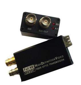 China Mini Type 3G-SDI to Fiber Optic Converter , Full HD Sdi Video Converter 1080P wholesale