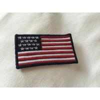 China Custom Embroidered Military Name Patches , Large 3D Embroidery Patches wholesale