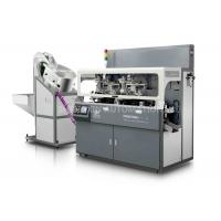 China Multicolor Plastic / Metal Cap Hot Foil Automatic Stamping Machine Side Surface wholesale