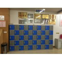 Quality Rustproof Clover Keyless Plastic Gym Lockers 5 Tier 1810 * 310 * 460mm for sale