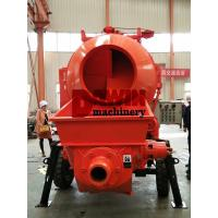 Buy cheap Effective Self Loading Concrete Mixer with Pump with 450L Drum and 30m3 Pumping System from wholesalers