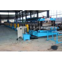 China 15KW X 3 Door Frame Making Machine , Stud And Track Roll Forming Machine 1.2 Inch Double Line wholesale