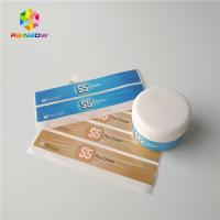 China Cosmetics Products Shrink Sleeve Labels Waterproof Frozen Refrigerated Pearl Laser wholesale