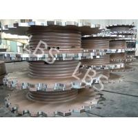 China Steel Plate Rolling Integral Type Grooving Drum Of Crane Winch wholesale