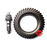 Quality Transmission System Spiral Bevel Gear , Crown Pinion Gear  for MITSUBISHI Rear Axle ratio for sale