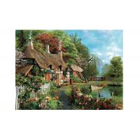 China Idyllic Scenery 3D Lenticular Pictures Full Colour Printing For Hotel wholesale