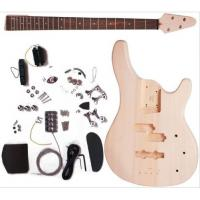 China 24 Fret Mahogany Unfinished Electric Bass Guitar Set With 864mm Scale AG-BS1 wholesale