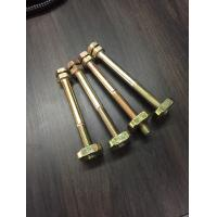 Buy cheap Busbar Trunking System Carbon steel Double Head Bolt With Nut M12 M8 M16 from wholesalers