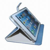 China Leather Case for iPad 2/3, Customized Logos are Accepted, 50 Pieces MOQ  wholesale