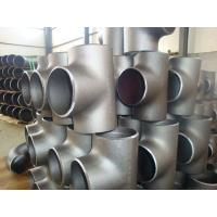 China SS316L SS310 Stainless Steel Weld Fittings , 904L  Sch10 - Sch160 Industrial Pipe Fittings wholesale