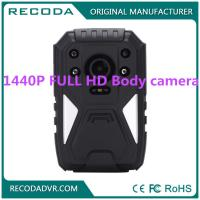 China Law Enforcement 4G Body Camera , Wide degree wearable police cameras 11 hours wholesale