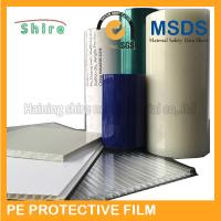 Quality Plastic Panel Hard Surface Protection Film Polyethylene Protective Tape No for sale