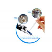 Buy cheap Dogs / Cats Clinical Refractive Index Refractometer ATC With Aluminum Construction from wholesalers