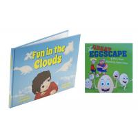 China CMYK Full Color Childrens Book Printing Case Bound With Section Sewn wholesale