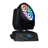 Buy cheap 36 X 15W LED Stage Lighting Moving Head With Ringcontrol RGBWA Silent Fan Stage Lights from wholesalers