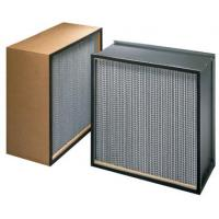 China ZS-GW-9151 Mini pleat hepa filter h14 for HVAC system wholesale