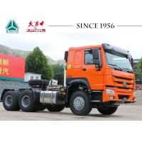 China HOWO 6X4 Tractor Trailer Truck 10 Wheeler With Euro IV Emission LHD Type on sale