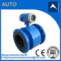 Quality Electromagnetic flow meter used in diary efflent with resonable price for sale