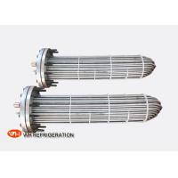 China Flooded Shell And Tube Evaporator Corrosion Resistant Titanium Tube Material on sale