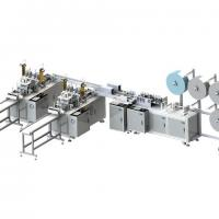 China Easy Operating Automatic Face Mask Making Machine Convenient And Accurate Counting wholesale