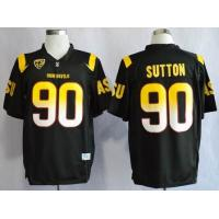 Quality cheap wholesale Arizona State Sun Devis (ASU) Will Sutton 90 College Football Jersey for sale